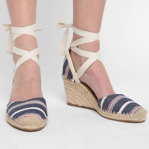 Sam Edelman Patsy Espadrille Wedge Sandals 8